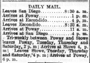 Poway mail
