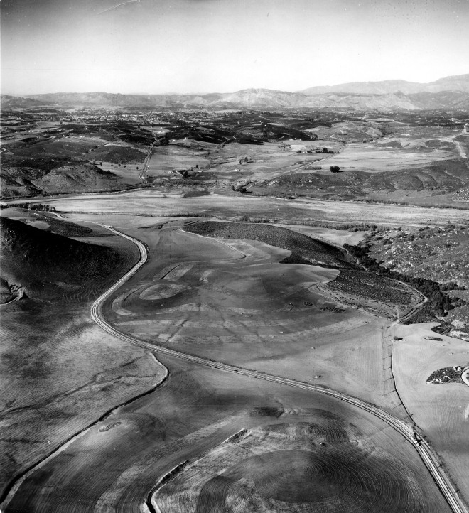 Daley Ranch aerial photo 19 Jan 1948