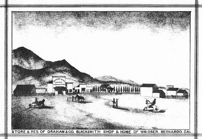 Bernardo town sketch