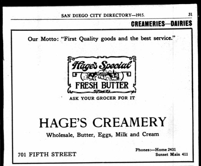 Hage creamery